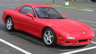 Japanese car Mazda RX-7 - List of Japanese cars